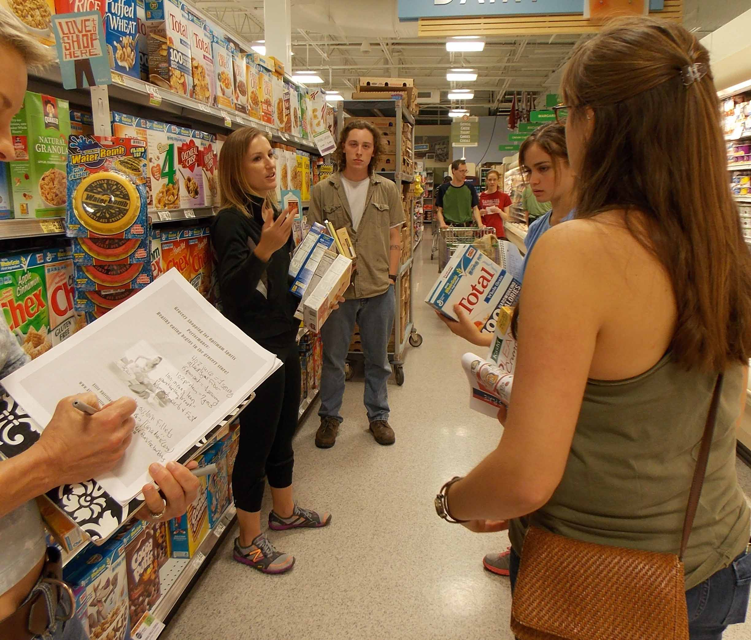 Events- Grocery Store Tour