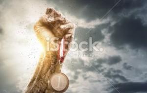 Fist trophy