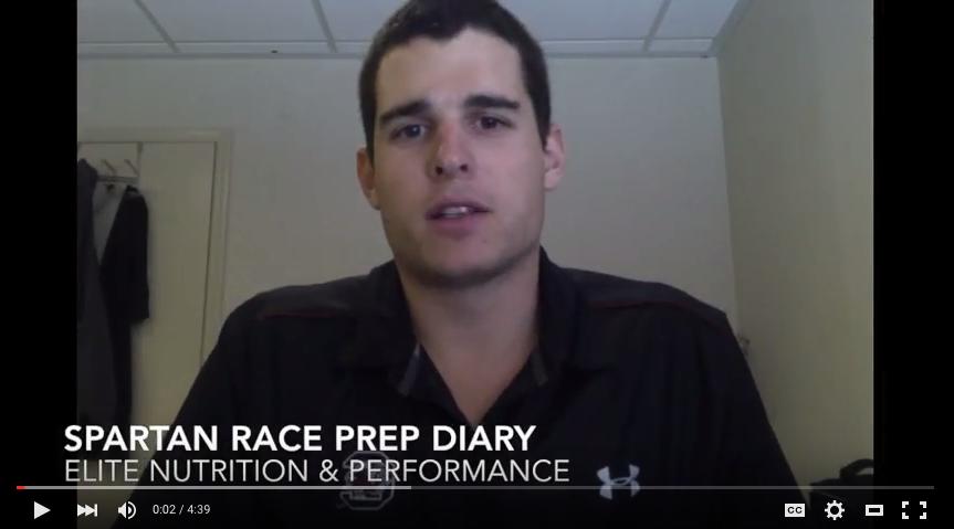 Spartan Race Prep Diary