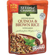 quinoa and brown rice