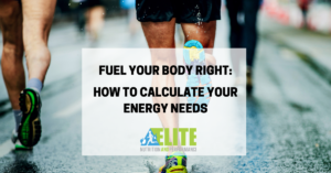 Kristen Ziesmer, Sports Dietitian - Fuel Your Body Right - How to Calculate Your Energy Needs