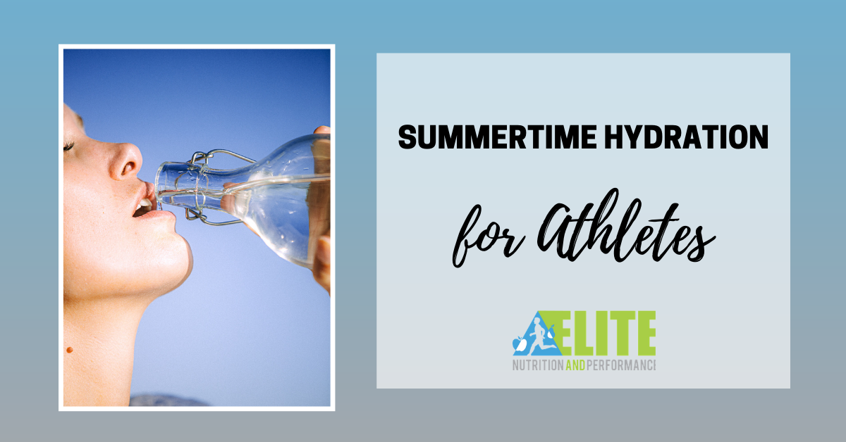 Summertime Hydration for Athletes
