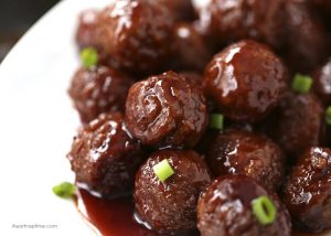 Low Sugar Sweedish Meatballs