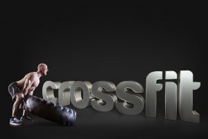 Cross fit Tire lifted