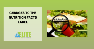 Kristen Ziesmer, Sports Dietitian - Changes to the Nutrition Facts Label
