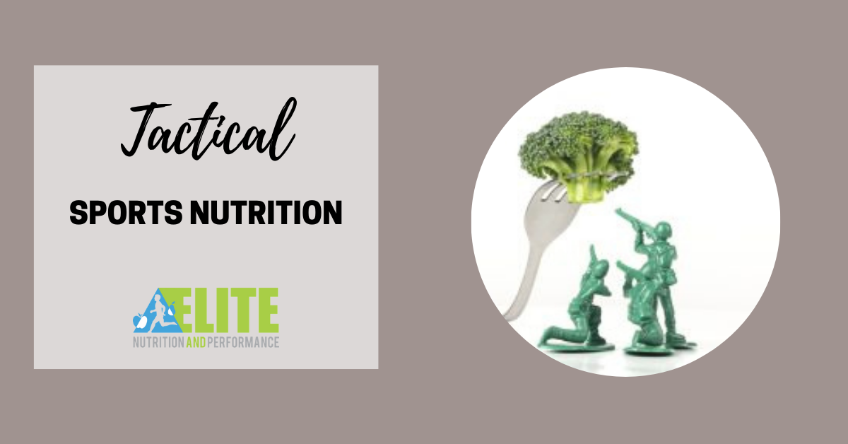 Tactical Sports Nutrition
