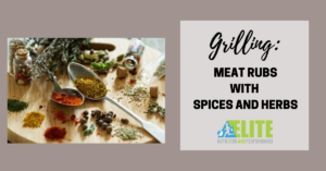Kristen Ziesmer, Sports Dietitian - Grilling - Meat Rubs with Spices and Herbs