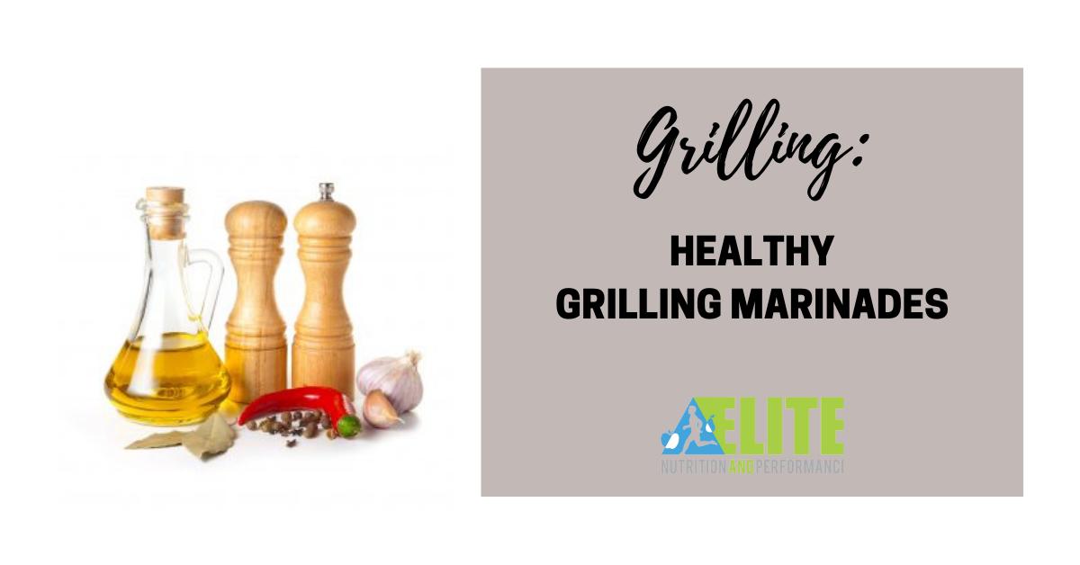Healthy Grilling Marinades