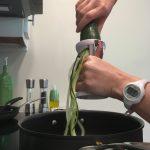 Twisting Zucchini
