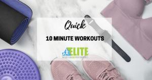Kristen Ziesmer, Sports Dietitian - Quick 10 Minute Workouts