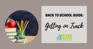 Kristen Ziesmer, Sports Dietitian -Back to School Guide-Getting on Track