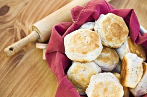 tailgate homemade biscuits