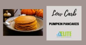 Kristen Ziesmer, Sports Dietitian - Low Carb Pumpkin Pancakes