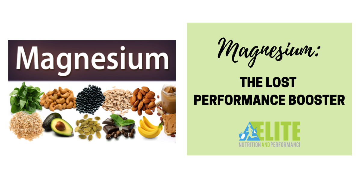 Magnesium: The Lost Performance Booster