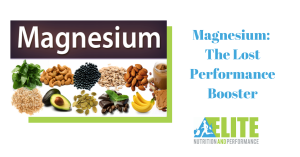 Kristen Ziesmer, Sports Dietitian - Magnesium, The Lost Performance Booster