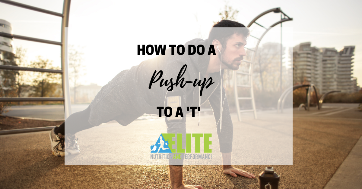 How to Do a Push-up to a T