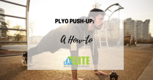 Kristen Ziesmer, Sports Dietitian - Plyo Push-Up, A How To
