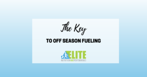 Kristen Ziesmer, Sports Dietitian - The Key to Off Season Fueling