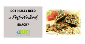 Kristen Ziesmer, Sports Dietitian - Do I Really Need A Post-Workout Snack