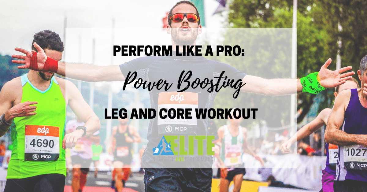 Perform Like a Pro: Power Boosting Leg and Core Workout