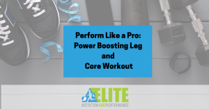 Kristen Ziesmer, Sports Dietitian - Perform Like a Pro, Power Boosting Leg and Core Workout