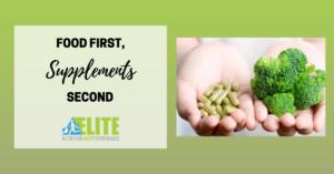 Kristen Ziesmer, Sports Dietitian - Food First Supplements Second