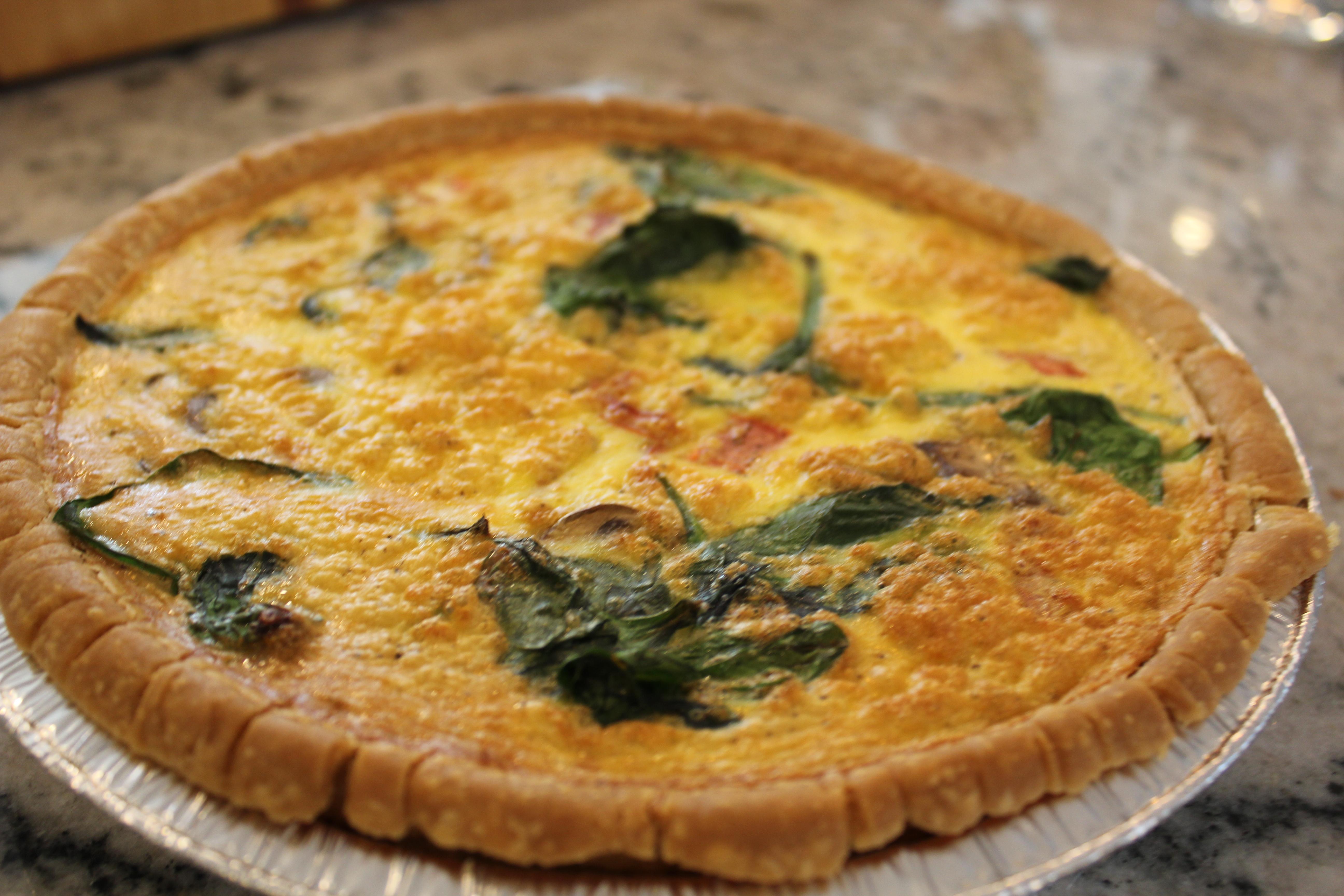 Recipe of the Month: Gluten-Free Veggie Quiche