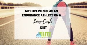 Kristen Ziesmer, Sports Dietitian - My Experience as an Endurance Athlete on a Low-Carb Diet