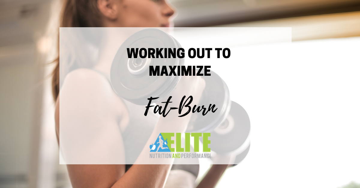Working Out to Maximize Fat-Burn