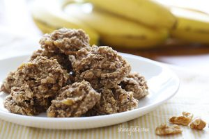 Kristen Ziesmer, Sports Dietitian - Banana-Nut Cookies Recipe