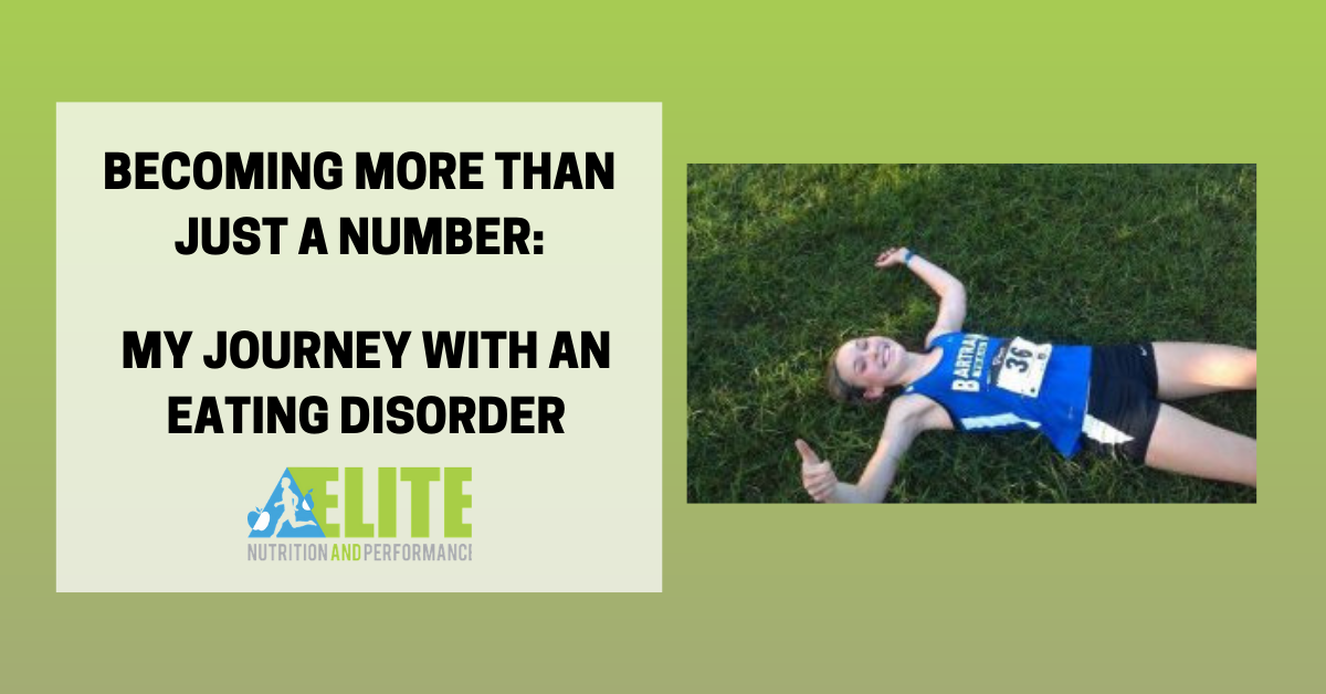 Becoming More Than Just a Number: My Journey with an Eating Disorder