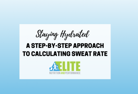 Staying Hydrated: A Step-By-Step Approach to Calculating Sweat Rate