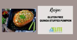 Kristen Ziesmer, Sports Dietitian - Gluten Free Quinoa Stuffed Pumpkin
