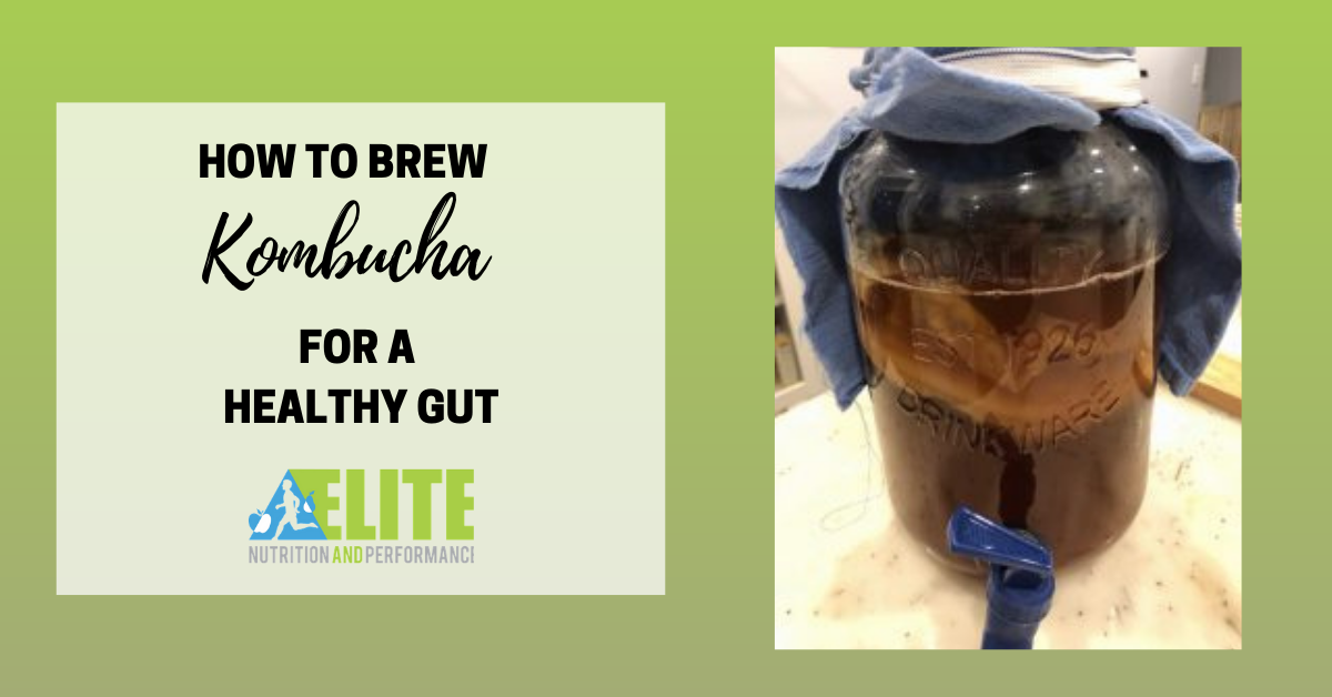 How to Brew Kombucha for a Healthy Gut