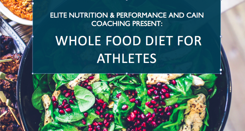 whole food diet workshop