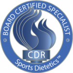Board Certified Specialist in Sports Dietetics