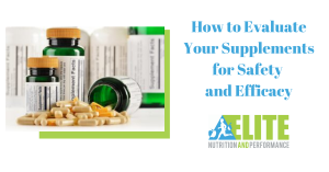 Kristen Ziesmer, Sports Dietitian - How to Evaluate Your Supplements for Safety and Efficacy