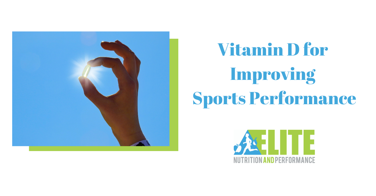 Vitamin D for Improving Sports Performance