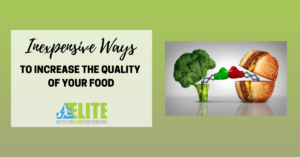 Kristen Ziesmer, Sports Dietitian - Inexpensive Ways to Increase the Quality of Your Food