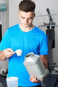sports nutrition supplement teenage athlete