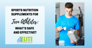 Kristen Ziesmer, Sports Dietitian - Sports Nutrition Supplements for Teenage Athletes - What's Safe and Effective