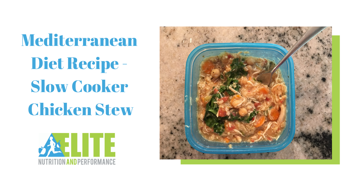 Mediterranean Diet Recipe: Slow Cooker Chicken Stew
