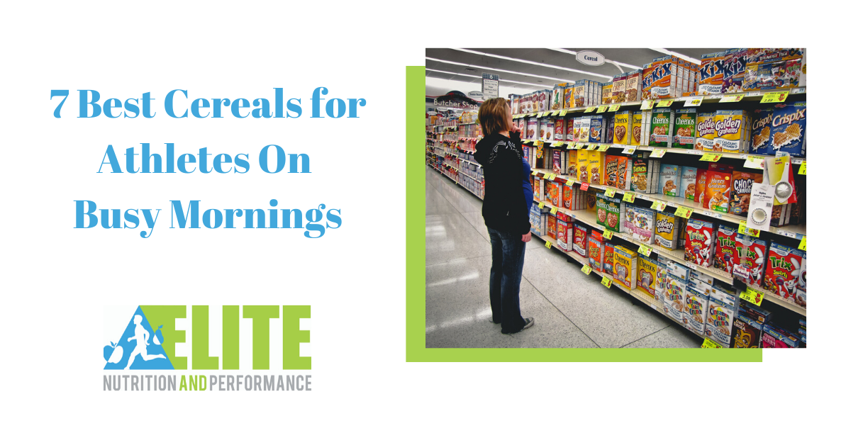 7 Best Cereals for Athletes On Busy Mornings