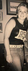 Kristen at 155 lbs