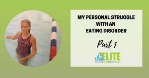 Kristen Ziesmer, Sports Dietitian - My Personal Struggle with an Eating Disorder, Part 1