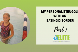 My Personal Struggle with an Eating Disorder – Part 1