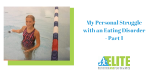 Kristen Ziesmer, Sports Dietitian - My Personal Struggle with an Eating Disorder - Part 1