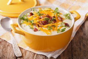 Kristen Ziesmer, Sports Dietitian - Slow Cooker Recipe: Creamy Potato and Cauliflower Soup