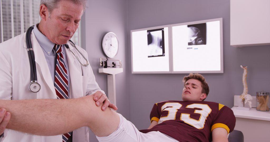 teenage sport injury