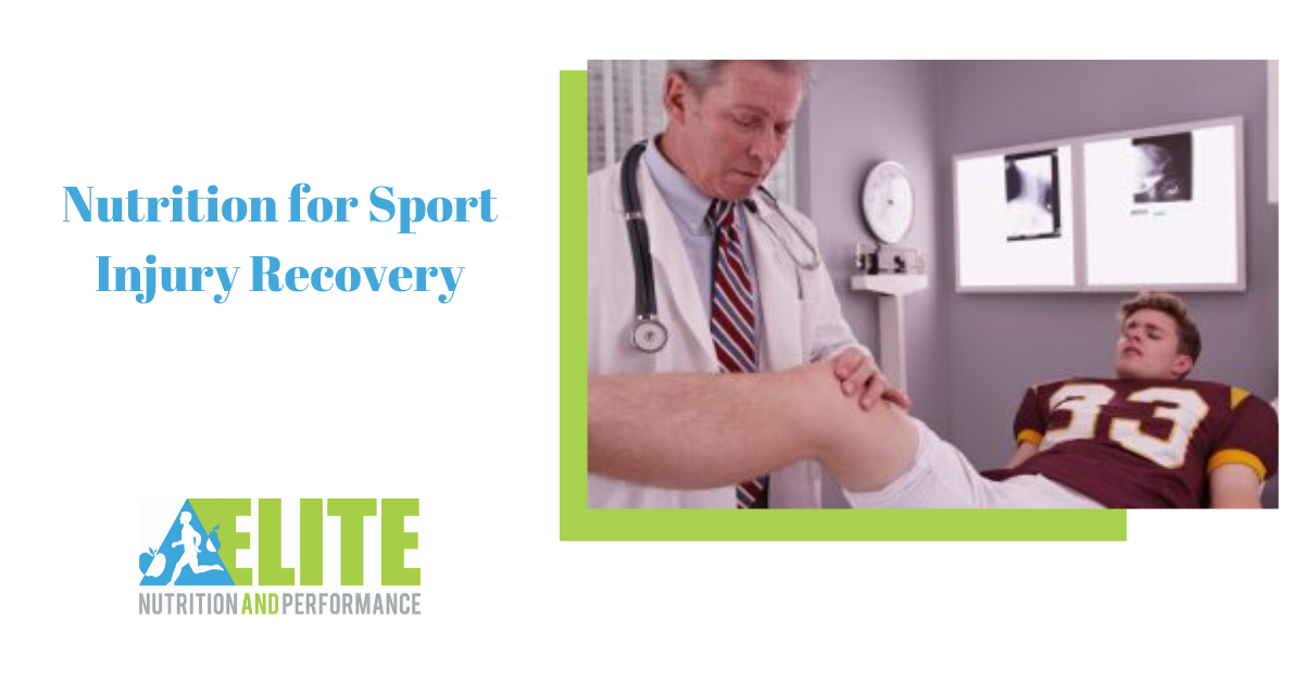 Nutrition for Sport Injury Recovery